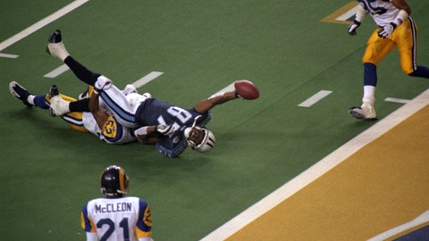 Super Bowl XXXIV: One. Yard. Short.