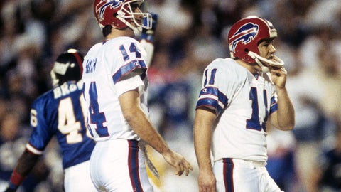 Super Bowl XXV: Scott Norwood misses wide right