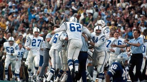 Super Bowl V: Jim O'Brien legs out the win