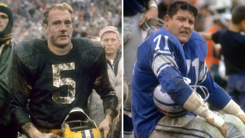 Paul Hornung/Alex Karras gambling suspensions