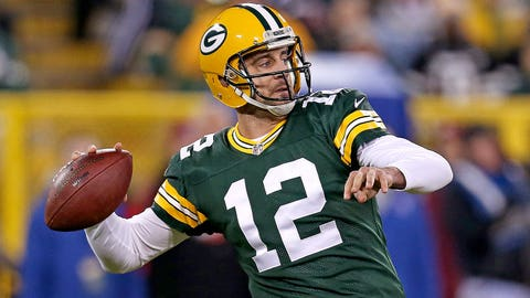 *Aaron Rodgers, Packers QB