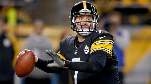 *Ben Roethlisberger, Steelers QB