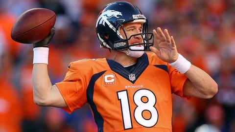 *Peyton Manning, Broncos QB