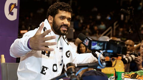 Russell Wilson's heart-warming shout-out