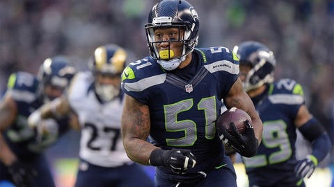 Outside linebacker: Bruce Irvin, Seattle Seahawks