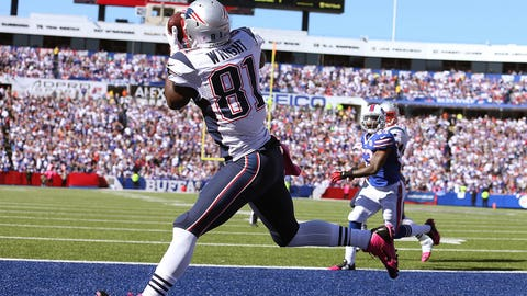 8. Tim Wright: Tight end, Patriots