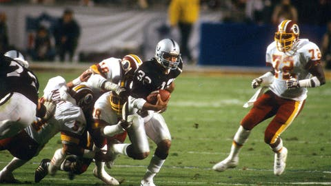 Marcus Allen, Super Bowl XVIII (1984)