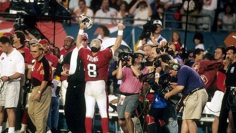 Steve Young, Super Bowl XXIX (1995)