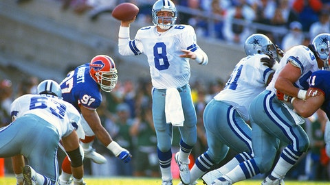 Troy Aikman, Super Bowl XXVII (1993)