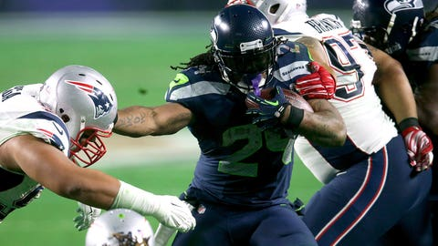 Marshawn Lynch is gone