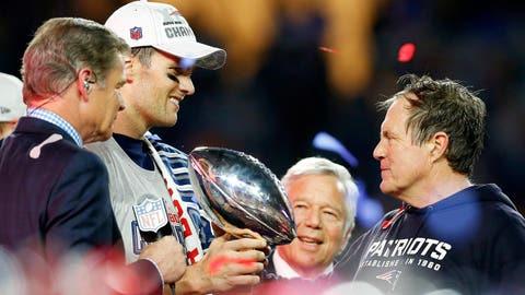 New England Patriots: .609 (28-18)