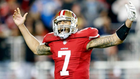 San Francisco 49ers: QB Colin Kaepernick - $19 million
