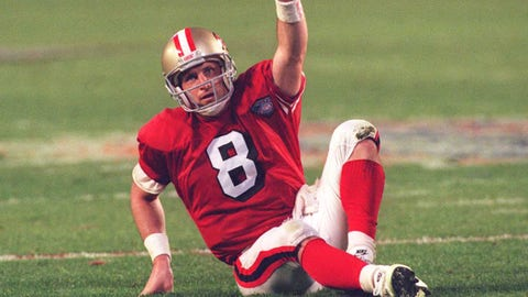 Steve Young, 1985-99