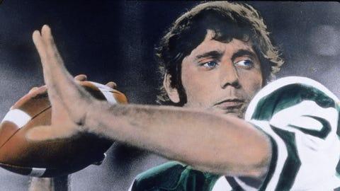 Joe Namath, 1965-77