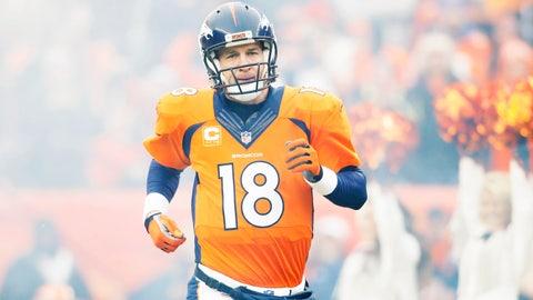 Peyton Manning, Broncos QB, $17.5M: (Probably) good