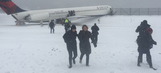 Giants' Larry Donnell on Delta plane that skidded off LaGuardia runway during snowstorm