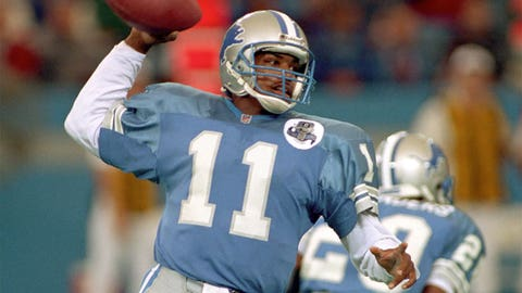 Andre Ware (No. 7 overall, Lions, 1990)