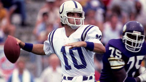Art Schlichter (No. 4 overall, Colts, 1982)