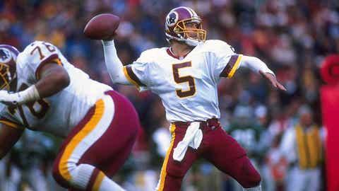 1994: QB Heath Shuler, Redskins (3rd overall)