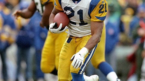 Lawrence Phillips (No. 6 overall, Rams, 1996)