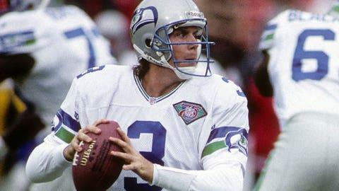 Seahawks: QB Rick Mirer (No. 2, 1993)