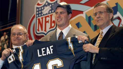 Ryan Leaf played a role in Manning's refusal to play for the Chargers