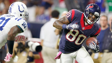Signed WR Andre Johnson