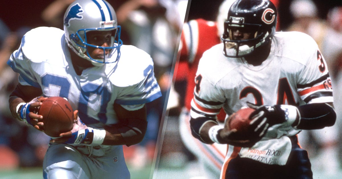 Who is the best running back of all time? You told us ...