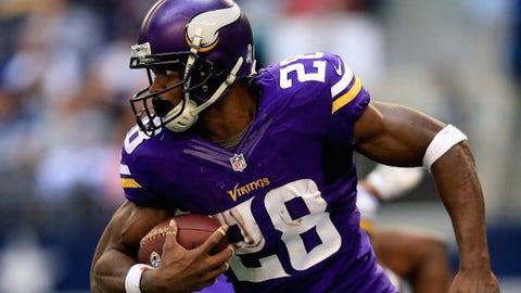 Adrian Peterson, Vikings RB, $15.4M: Bad