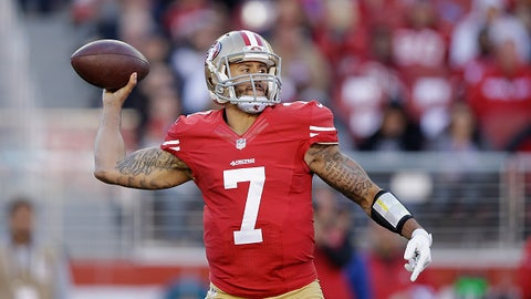 Will Kaepernick finally show some improvement in his third full season as a starter?