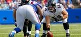 Ravens trade former starting center Gino Gradkowski to Broncos