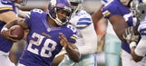 Does Tony Romo restructure pave the way for Adrian Peterson?