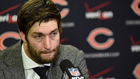 Chicago Bears — Jay Cutler's failure