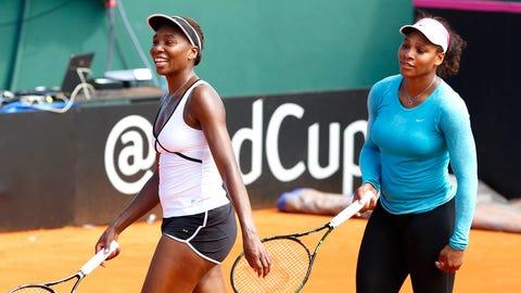 Miami Dolphins: Venus and Serena Williams