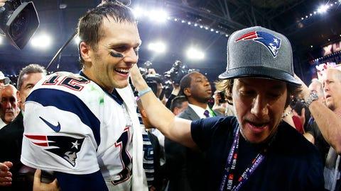 New England Patriots: Mark Wahlberg