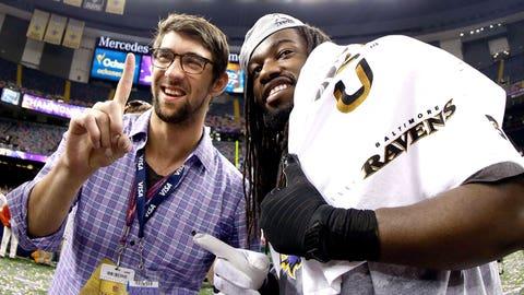 Baltimore Ravens: Michael Phelps
