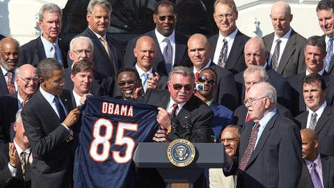 Chicago Bears: Barack Obama