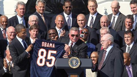 Chicago Bears: Barack Obama