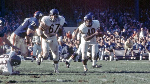 Gale Sayers: Chicago Bears (1965-1971)