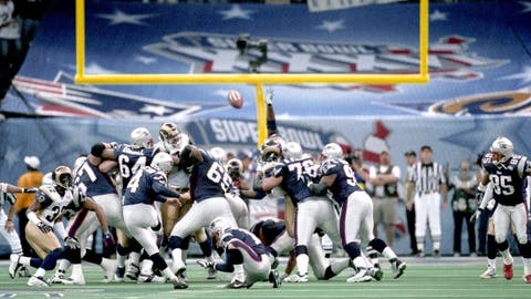 Super Bowl XXXVI: Adam Vinatieri comes through