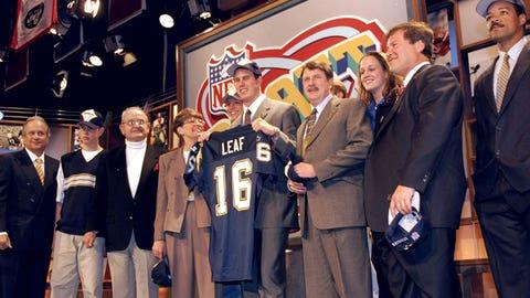QB Ryan Leaf (1998)