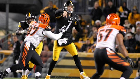 Cincinnati vs. Pittsburgh: Nov. 1 (Week 8) and Dec. 13 (Week 14)