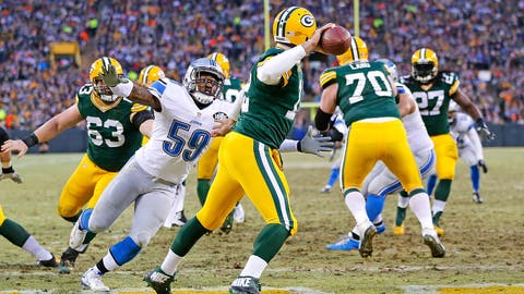 Detroit vs. Green Bay: Nov. 15 (Week 10) and Dec. 3 (Week 13)
