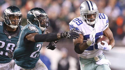 Dallas vs. Philadelphia: Sept. 20 (Week 2) and Nov. 8 (Week 9)