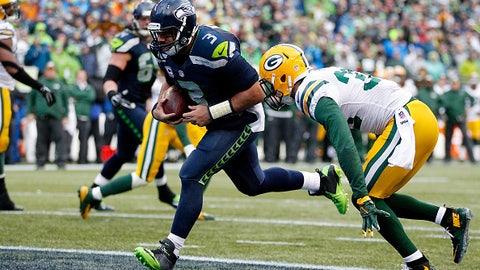GREEN BAY: vs. Seattle in Week 2 (8:30 p.m. ET/Sept. 20)