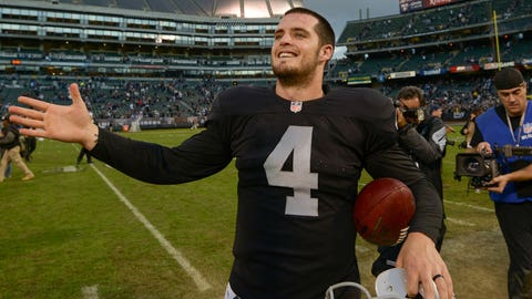 Is Derek Carr truly the answer at quarterback?