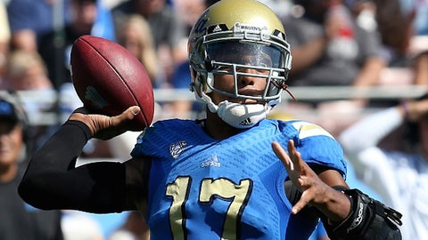 UCLA QB Brett Hundley; Packers (5th Round, 147th overall)