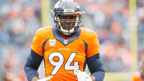 DeMarcus Ware, LB, Broncos (forearm): Questionable