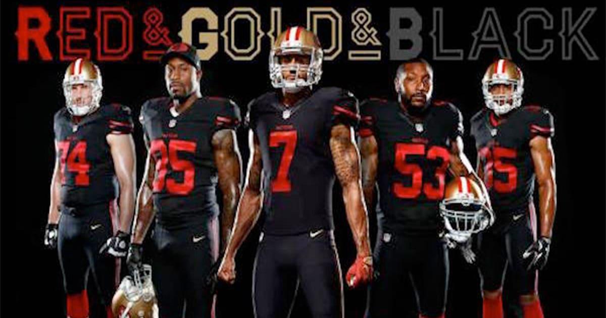 The Raiders Trolled The 49ers New Black Uniforms Fox Sports