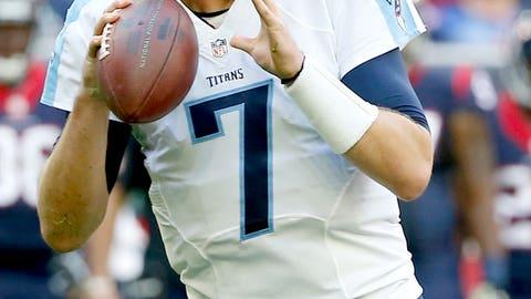 Tennessee Titans QB Zach Mettenberger